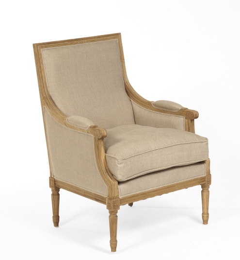 Merveilleux Chair Provence Straight Back Chair