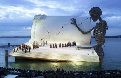 The Marvelous Floating Stage of the Bregenz Festival In Austria !!!
