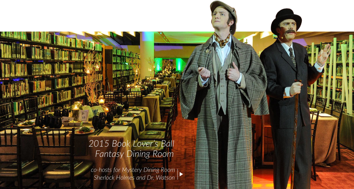 2015 Book Lover's Ball Fantasy Dining Room