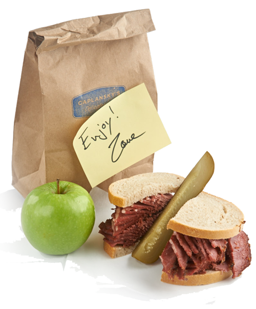 Caplansky's Lunch in a Bag
