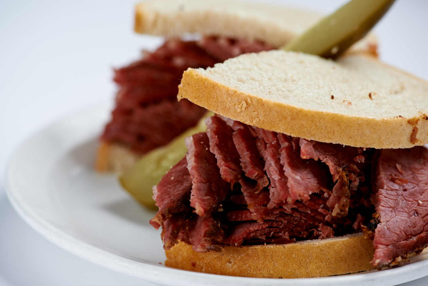 Smoked Meat with Pickle