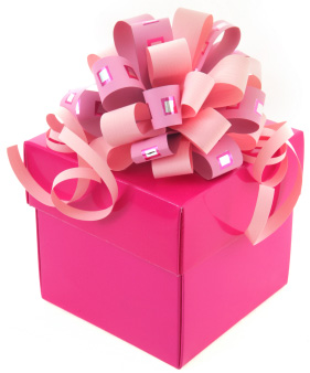 pink gift box canadianspecialevents – CanadianSpecialEvents.com