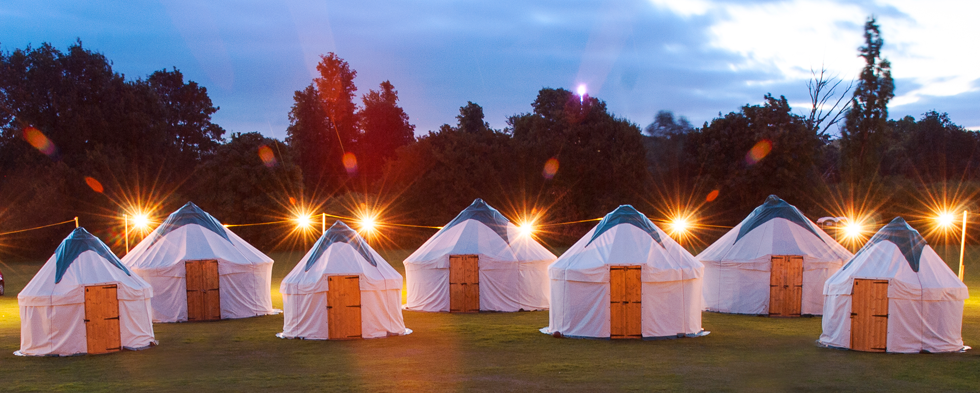 glamping in style for events canadian special events