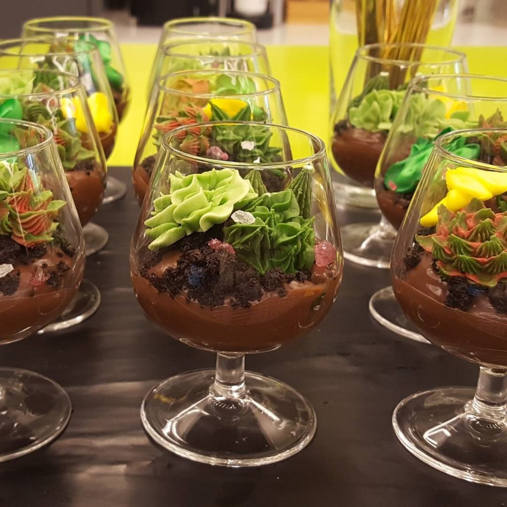 Mini Dessert Terrariums by Eatertainment Special Events & Catering