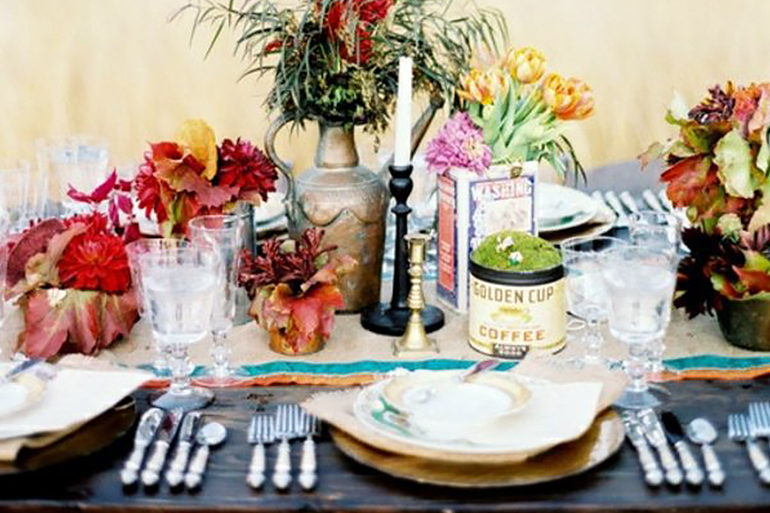 Country Garden Table Ideas
