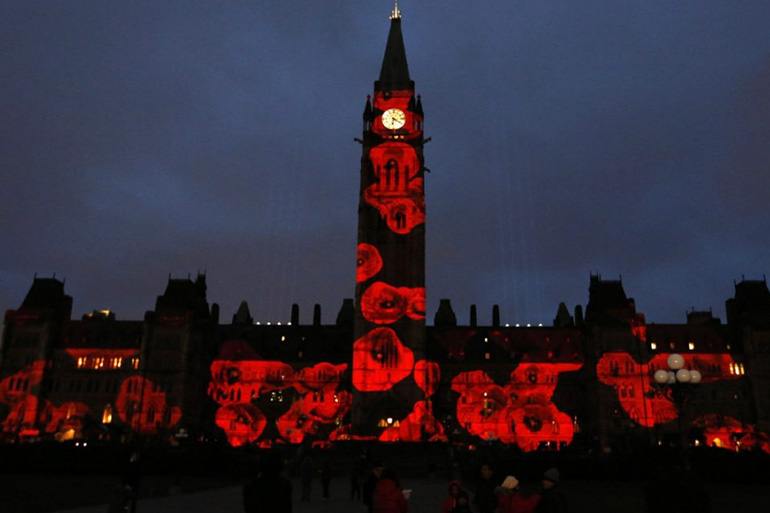 House of Commons, Ottawa Projection Mapping by Westbury National
