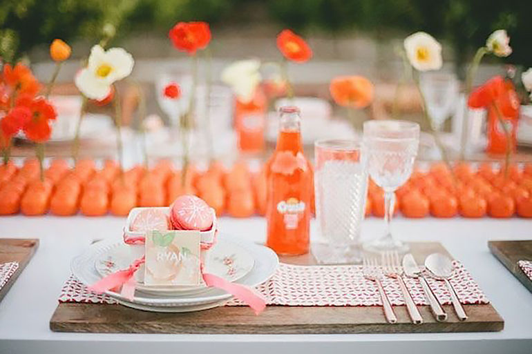 Orange Crush Tablescape