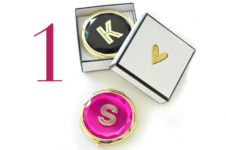 Personalized Hand Painted Compact